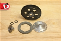 Robinson Racing Gen3 Slipper Unit 64T Spur w/Ridged Hub for Axial Yeti # 1564