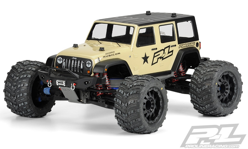 Pro Line Jeep Wrangler Unlimited Rubicon Clear Body For T