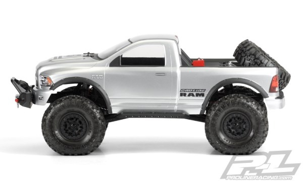 Proline Ram 1500 Clear Body For 1 10 Scale Crawlers 3434 00