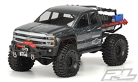 "Proline Chevy Silverado Clear Body for SCX10 Trail Honcho 12.3"" (313mm) wheelbase 3439-00"