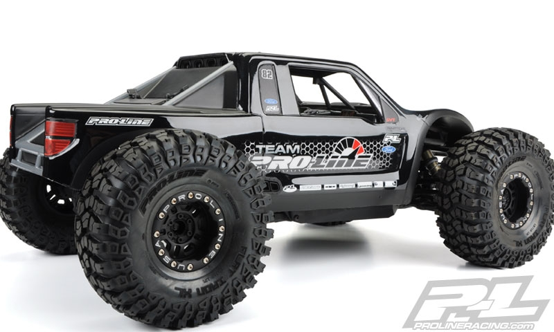 proline ford f 150 raptor clear body for 1 10 axial yeti. Black Bedroom Furniture Sets. Home Design Ideas