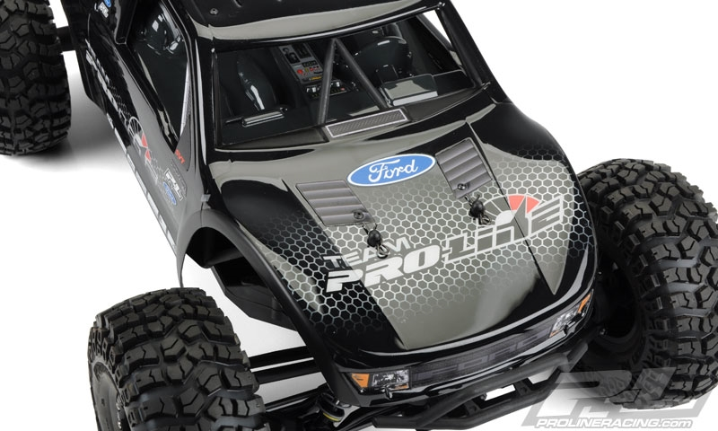 Proline Ford F 150 Raptor Clear Body For 1 10 Axial Yeti
