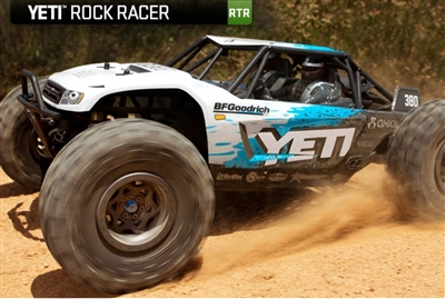 Combo Deal: Axial Racing YETI RTR AX90026 (OTTSIX Racing 2.2 Voodoo U4 Tire - Gold (2) and get Crawler Innovations Foam (2) Standard Free)