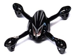 HUBSAN BODY SHELL H107L (BLACK/SILVER)  HICH107-A31BS