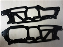 DISCONTINUED - TCS 5mm Chassis for HPI Savage Flux (stock length)