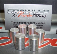 Crawler Innovations  Aluminum Weights for 2.2 DH (6 Pieces)
