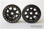 "SSD 1.9"" Assassin Beadlock Wheels (Black) SSD00038"