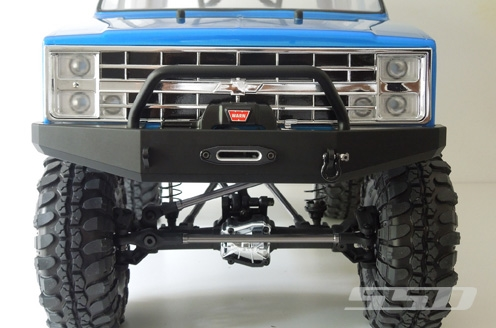 Ssd on Receiver Winch Mounting Plate