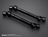 Junfac Hardened Carbon Steel Universal Shafts (2 each) for Axial Honcho #J90028