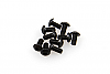disabled Axial M3x6mm Hex Socket Button Head (Black) (10pcs) AXA0113