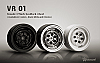 "G-Made 1.9"" VR01 Beadlock Wheels 70104  70105  70106"
