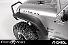 Axial SCX10 Poison Spyder JK Crusher Flares (Front) AX80121