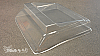 "HALF OFF!  Dinky R/C Twin Hammer Roof V5 ""StarLitt"" Lexan (Clear) Part #HRCV5"