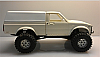 "SALE - Dinky R/C ""Yota"" Camper Shell W/O windows (White) ""Smoothie"" Part #YSWV1"