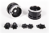Axial 2.2 Trail Ready HD Series Beadlock w/Slim Ring - IFD Wheels -Chrome/Black(2pcs) AX08142