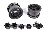 Axial 2.2 Trail Ready HD Series Beadlock w/Slim Ring - IFD Wheels -Black (2pcs) AX08141