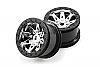 Axial 2.2 Raceline Renegade Wheels - 41mm Wide (Chrome) (2pcs) AX08137