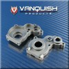 Vanquish Axial SCX10 Aluminum Transmission Housing Silver VPS01183