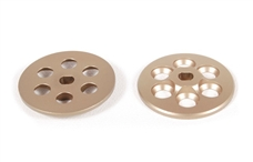 Axial Racing Yeti Machined Slipper Plate (Hard Anodized) (2pcs) AX31164