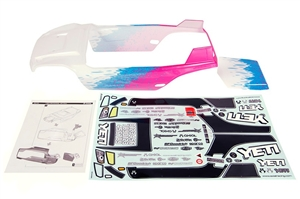 "Axial Racing Yeti Y-380 1/10th Scale Body - .040"" (Pre-Painted) (White, Blue, Pink) AX31174"