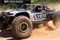 Combo Deal: Axial Racing Yeti 1/10th Scale Electric 4WD - KIT AX90025 with FREE Blue Monkey Trailing Arms BM-349