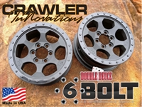 Crawler Innovations Double Duece 6 Bolt Wheels