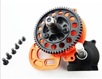 Hot Racing HT 61T Steel Extended Outdrive Transmission SCX10 SCP38HT03