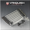 Vanquish Axial SCX10 / JK 4 Link Conversion Kit with Stock Axles VPS06970