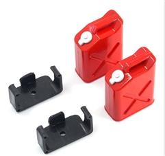 Yeah Racing 1/10 RC Rock Crawler Accessory Gas Tank 2pcs # YA-0355