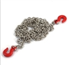 Yeah Racing 1/10 RC Rock Crawler Accessories 96cm Long Chain and Hook Set Red # YA-0357