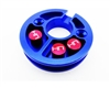 Hot Racing Aluminum Motor Plate for Axial Yeti YET1806