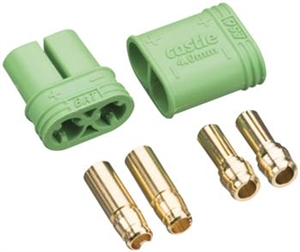 Castle Creations 4mm Polarized Bullet Connector Set 011-0065-00