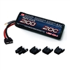 Venom 20C 3S 2100mAh 11.1 LiPO Battery with Universal Plug System 1577