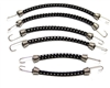 disabled Hot Racing Set of 1/10 Scale bungee cords ACC468C01 - Black with White
