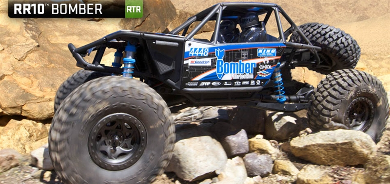 Axial R C : Axial bomber th scale electric rtr ax