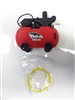 $15 OFF The Hoyfab Crawlers Air Compressor HFAC-014R - Red