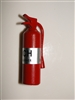 Miniatures Scale Red Fire Extinguisher AZ-T8319IM65685