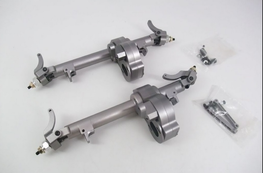 New Age Enroute Berg 2.2 V1 Replacement Short Axle Tube Case 1//10 Rock Crawler