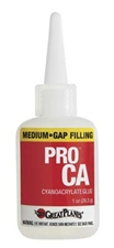 Great Planes Pro CA Glue Medium 1oz. # GPMR6008