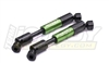 Integy Heavy Duty Universal Drive shaft for AX10 Scorpion Rc Rock Crawler (2) #C22886GREEN