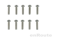 Enroute M3X12MM Round Head Hex Socket Screw (10 Pcs.) #EBG144