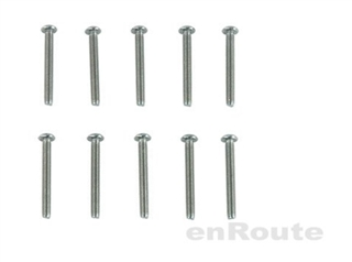 Enroute M3X25MM Round Head Hex Socket Screw (10 Pcs.) #EBG147