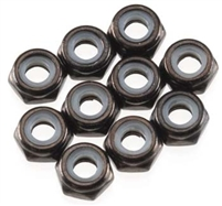 Axial M3 Thin Nylon Locking Nut (10 each) #AXA1052
