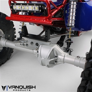 Vanquish Yeti and Wraith V2 Axle Housing CNC Machined Aluminum Black, Silver, or Grey VPS07600 VPS07601 VPS07602
