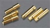 Castle Creations 4MM CC Bullet Connectors CCBUL4X3