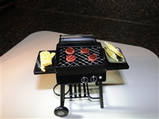 $3 OFF Miniatures BBQ Grill with Cooking Hamburgers CNK-CNKBBQ3