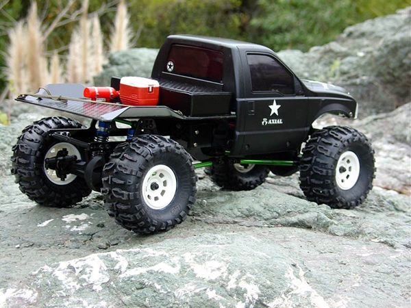tcs x trail scale chassis for the axial ax10 scorpion