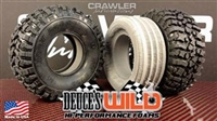 Crawler Innovations Deuce's Wild Hi-Performance Single Stage Closed Cell Foam for 1.9 Tires (2) SSCC1.9