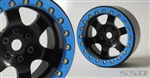 "SSD 2.2"" Rock Racer Beadlock Wheels (Black) SSD00098"