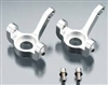 Silver STRC Aluminum Steering Knuckles Axial SCX10 AX10 STA80004